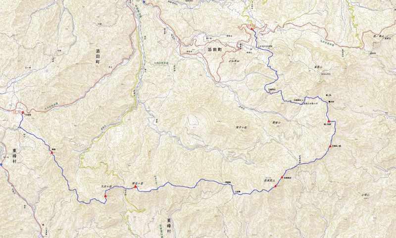 英彦山マップ.