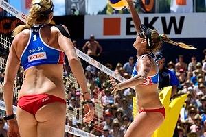 【ハプニン具】リオ五輪の女子ビーチバレー、想像以上に色々出てるwwwww(画像あり)