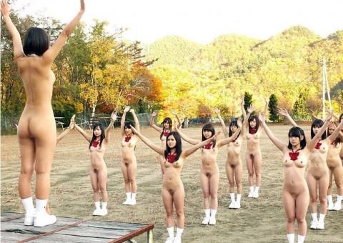 露出高等学校による全裸運動会ってなんだよ