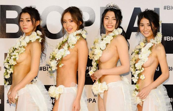 ジャパニーズ美乳グランプリが開催してた