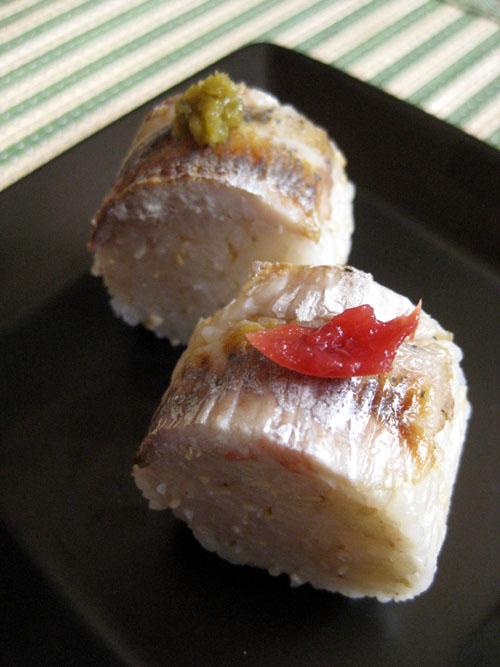 焼き鮎寿司05