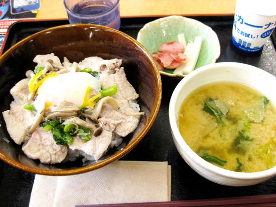 毛呂豚の柚子塩丼03