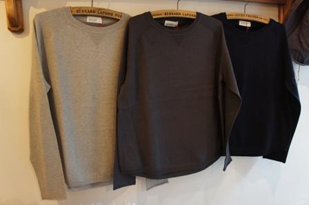 コットン&カシミヤセーター