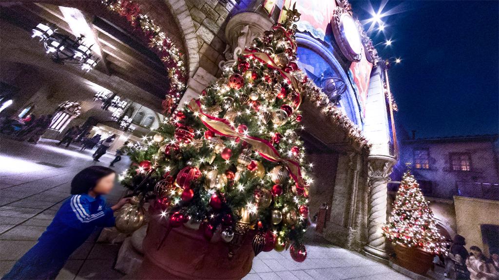 クリスマスの願い・・それは(ミラコスタ通路)