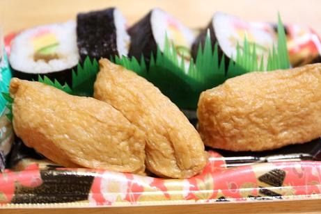 2016 10 21 頂きものの助六寿司