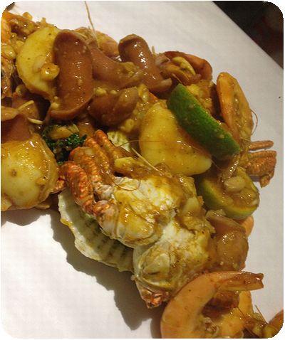 Chili Crabs料理