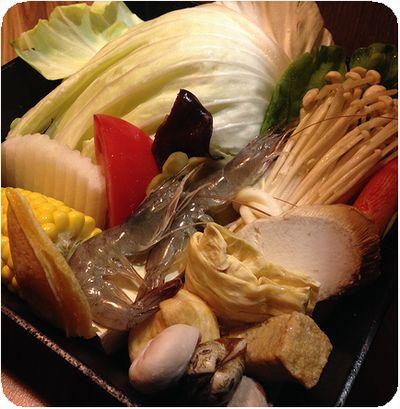 竹間精緻鍋物野菜
