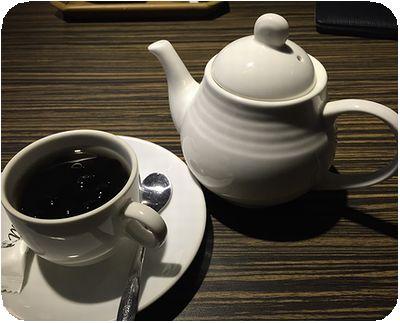 集客人間茶館コーヒー