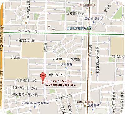 集客人間茶館地図