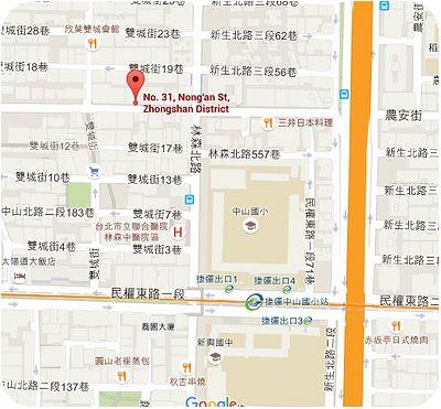 山東水餃大王地図