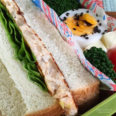 明太豆腐つくねサンド弁当02