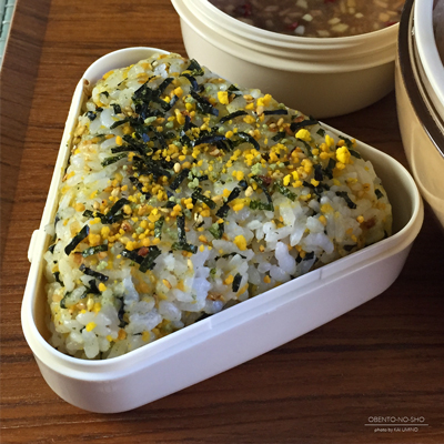 豚の香味揚げサラダ弁当04