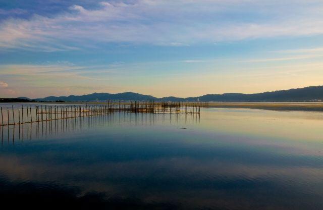 琵琶湖の底に木造建築の跡を発見…1819年のM7.0「文政近江地震」で水没か