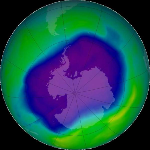 【南極】オゾンホールが観測史上最大級に…世界気象機関「警戒は必要だが過度に心配することはない」