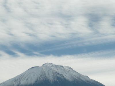 富士眺望の湯 ゆらり から見た富士山