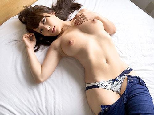 Gカップ美巨乳女子との濃厚ハメ撮りセックス