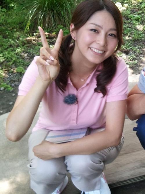 画像☆NHK杉浦友紀アナの乳ロケット発射10秒前wwwwwwwwww