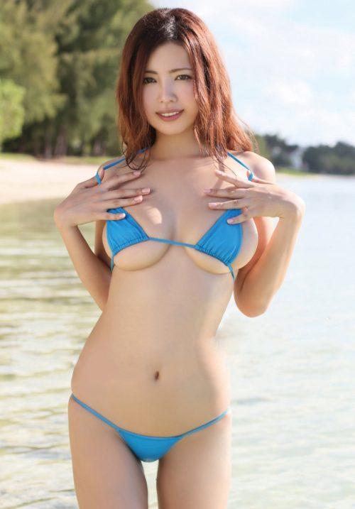 【三次】夏真っ盛り!水着の女の子のエロ画像