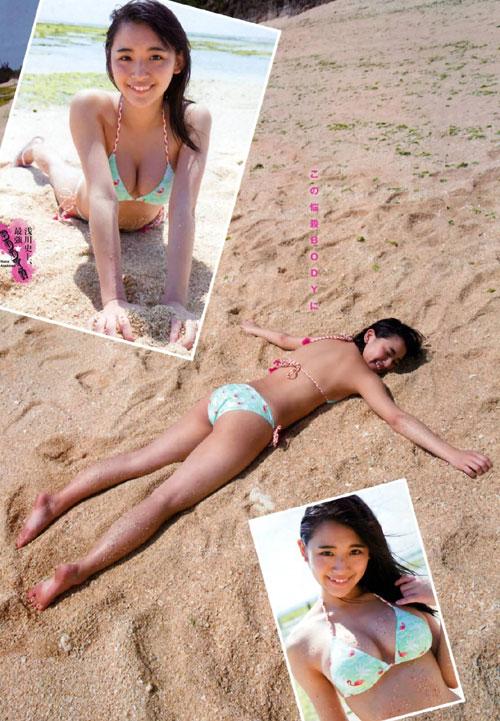 浅川梨奈の1000年に一度の童顔巨乳おっぱい5
