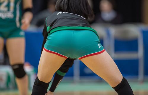 【アスリートエロ画像】リオでも後方バッチリ!女子バレーは尻が肝要www