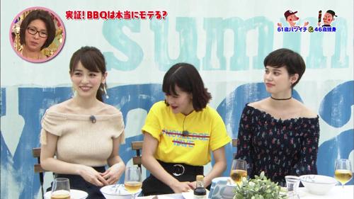 泉里香さんのとんでもおっぱいwwスレンダー美人なのになんちゅうデカ乳www