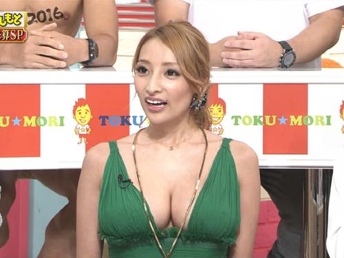 加藤紗里が爆乳に!!!