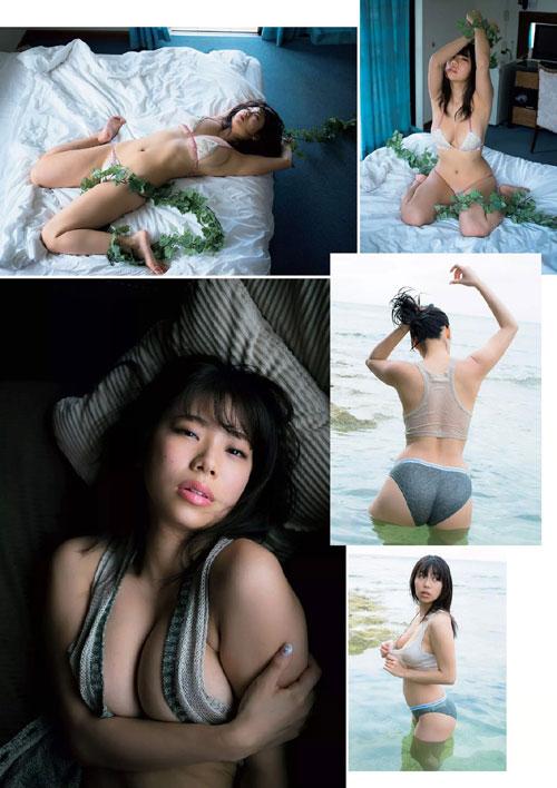 鈴木ふみ奈のはみ出てるおっぱい6