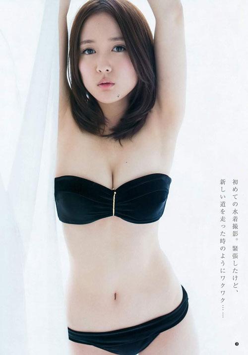 美人すぎるタクシードライバー生田佳那(24)の水着画像×13