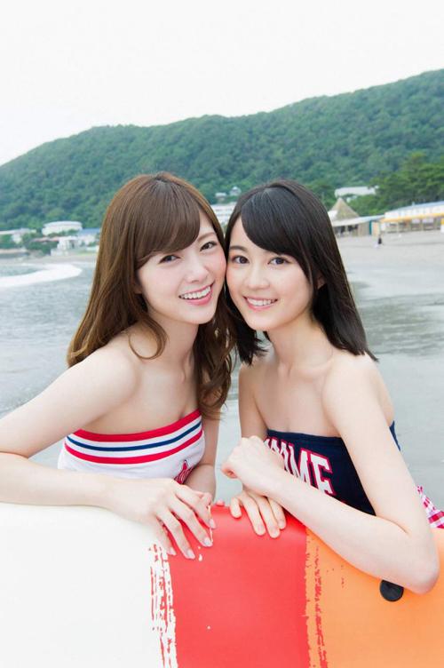 白石麻衣(24)と生田絵梨花(19)のややレズレズしい二人旅。