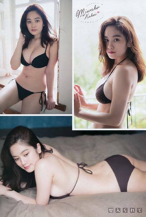 筧美和子のこぼれそうなおっぱい26