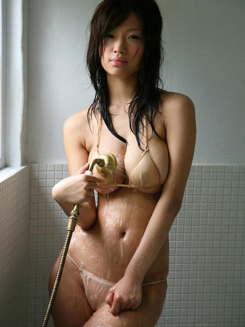 3次元 水着とかブラに入りきらないハミ巨乳ちゃんエロ画像 40枚