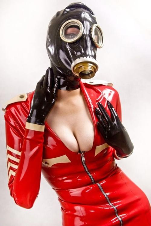 ガスマスクのエロ画像 マスクフェチ 150枚