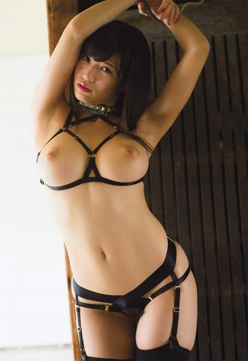 日本1番抱きたい身体!たかしょーヘアヌード美巨乳おっぱい画像