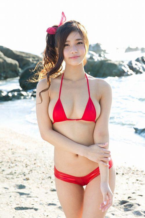 椿原愛 バニラ★キッスメンバー軟体フェロモンボディのFカップ巨乳おっぱい画像
