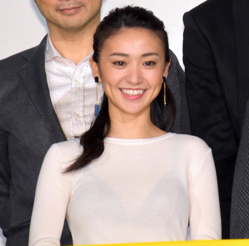 大島優子ブラジャー透けまくり