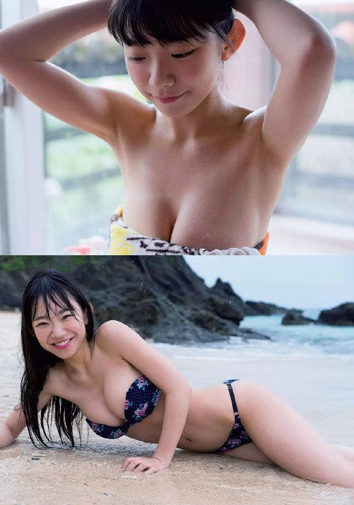長澤茉里奈の成長し過ぎおっぱい41