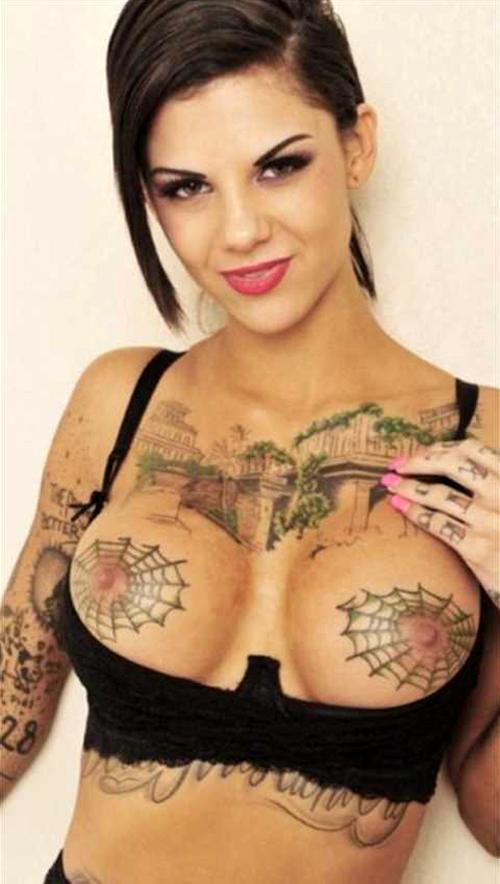 【閲覧注意】少女の間で流行している刺青おっぱいヌード…うわぁ…