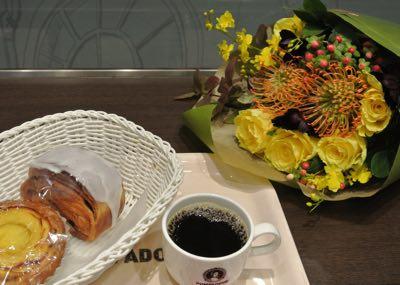 ブーケとカフェ