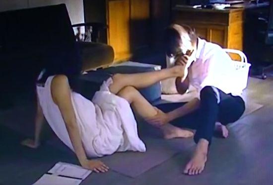 【榮倉奈々】足をゆっくりと舐められるラブシーン