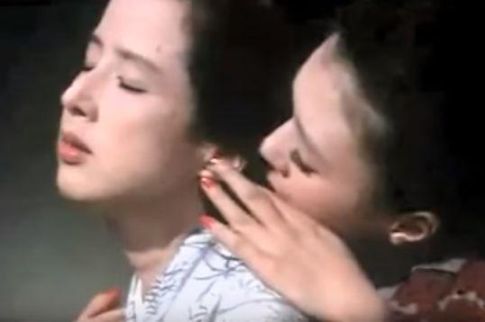 【加賀まりこ】好きな人の耳たぶを指先で触る濡れ場