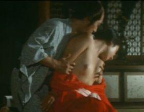 【三井マリア】着物がはだけてしまう濡れ場