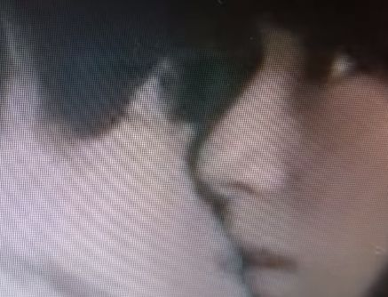 【西内まりや】キスされて目を見開くラブシーン