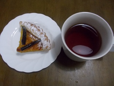 tea time at home