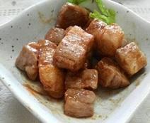 豚肉デミグラスソース