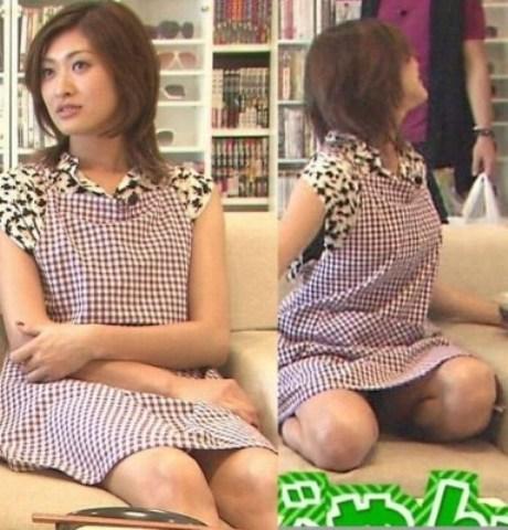 アダルト画像3次元 - 山田優のはみパンどころか下着丸見えハプニングキャプ