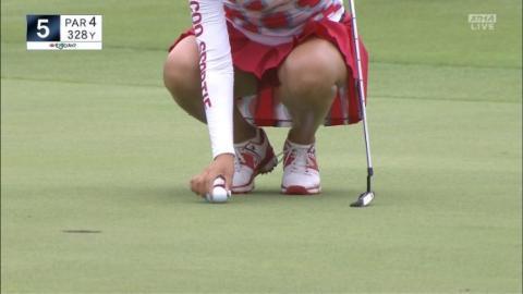 アダルト画像3次元 - 《女子ゴルフ》下着が丸見えオープンおっぱい。。。。。【※イ・ボミ、上田桃子、渡辺彩香ほか】