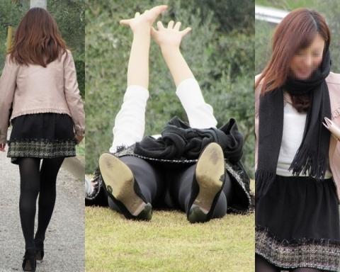 アダルト画像3次元 - 《*唖然*》ミニスカ娘が芝生で寝転んだ結果★★ニヤリ★★★★★★★★★★★★★★★★★★★★★