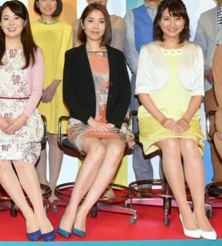 (写真)鎌倉千秋アナのモロパン色っぽいな脚キャプ☆☆☆ミニスカートで▼ゾーンの奥までモロ見えモロパンハプニング☆☆☆NHKアナウンサー