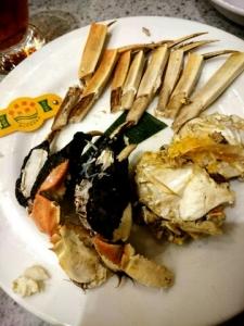 上海蟹ばらし