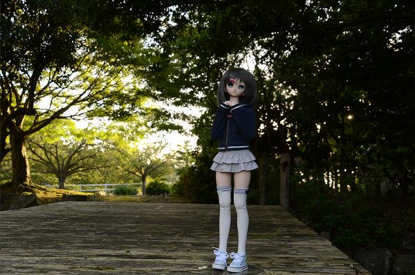 小隠里@宇曽川の公園で